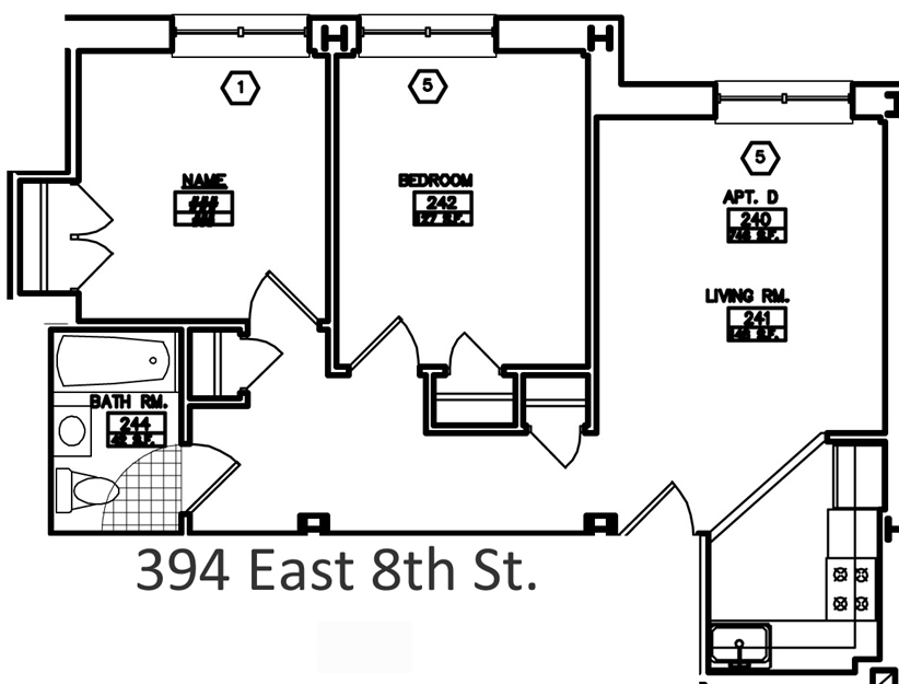 2br at 394 east 8th street for 10 east 39th street 8th floor new york ny 10016