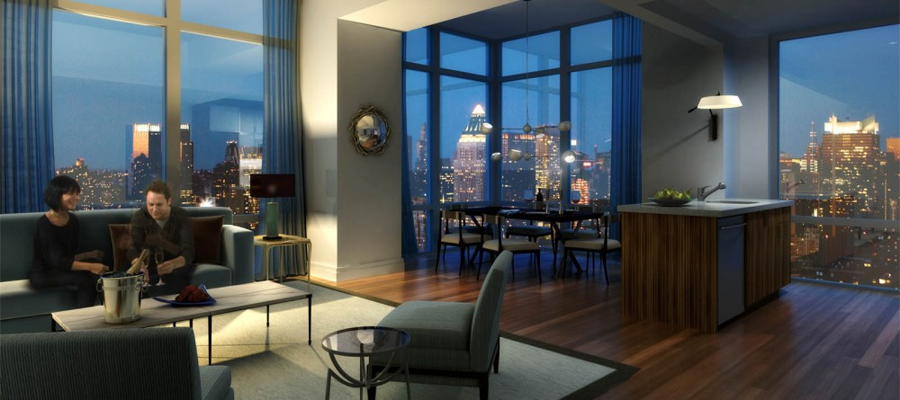 13 Stunning Apartments In New York: Deluxe 2BR At Silver Towers