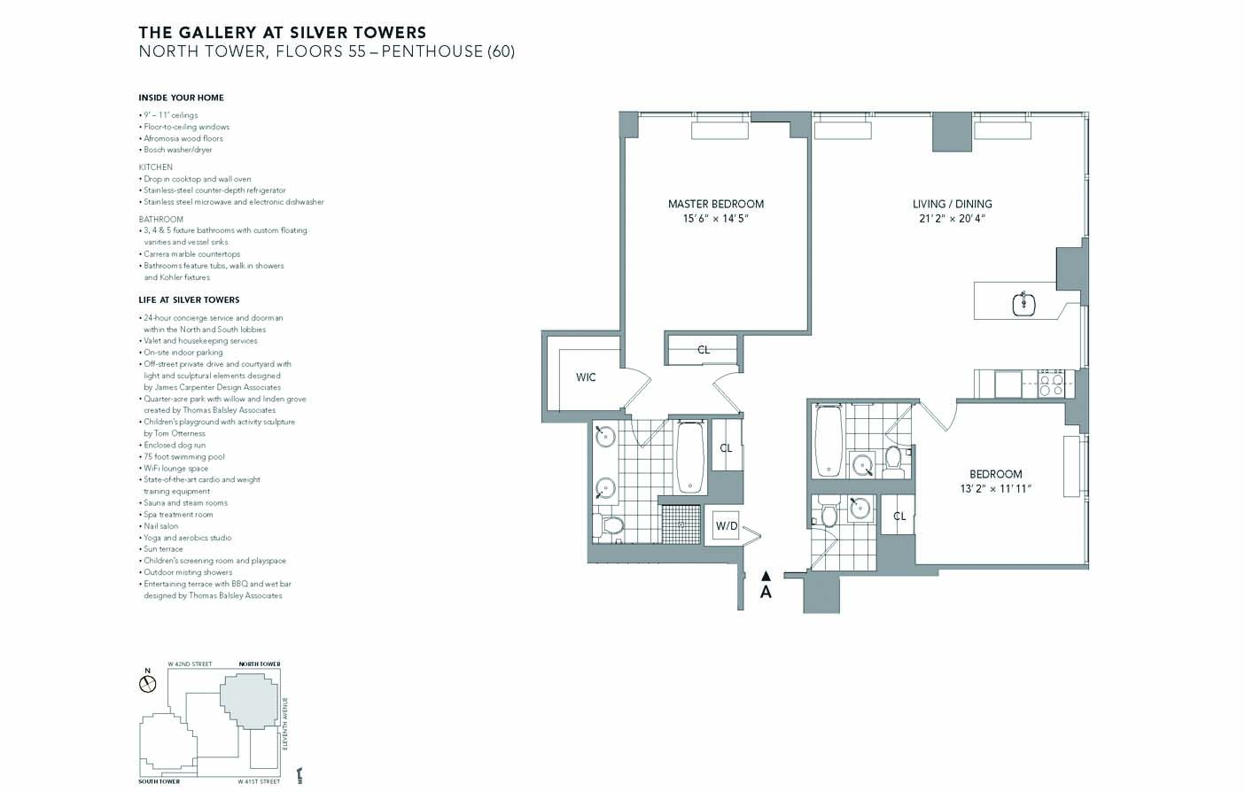 Amazing 2br 2 bath house plans 8 sky collection 2br a floors 55 60 floor - Two floor house plans collection ...